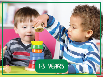Kidsjee Educational Toys for 1 to 3 years old